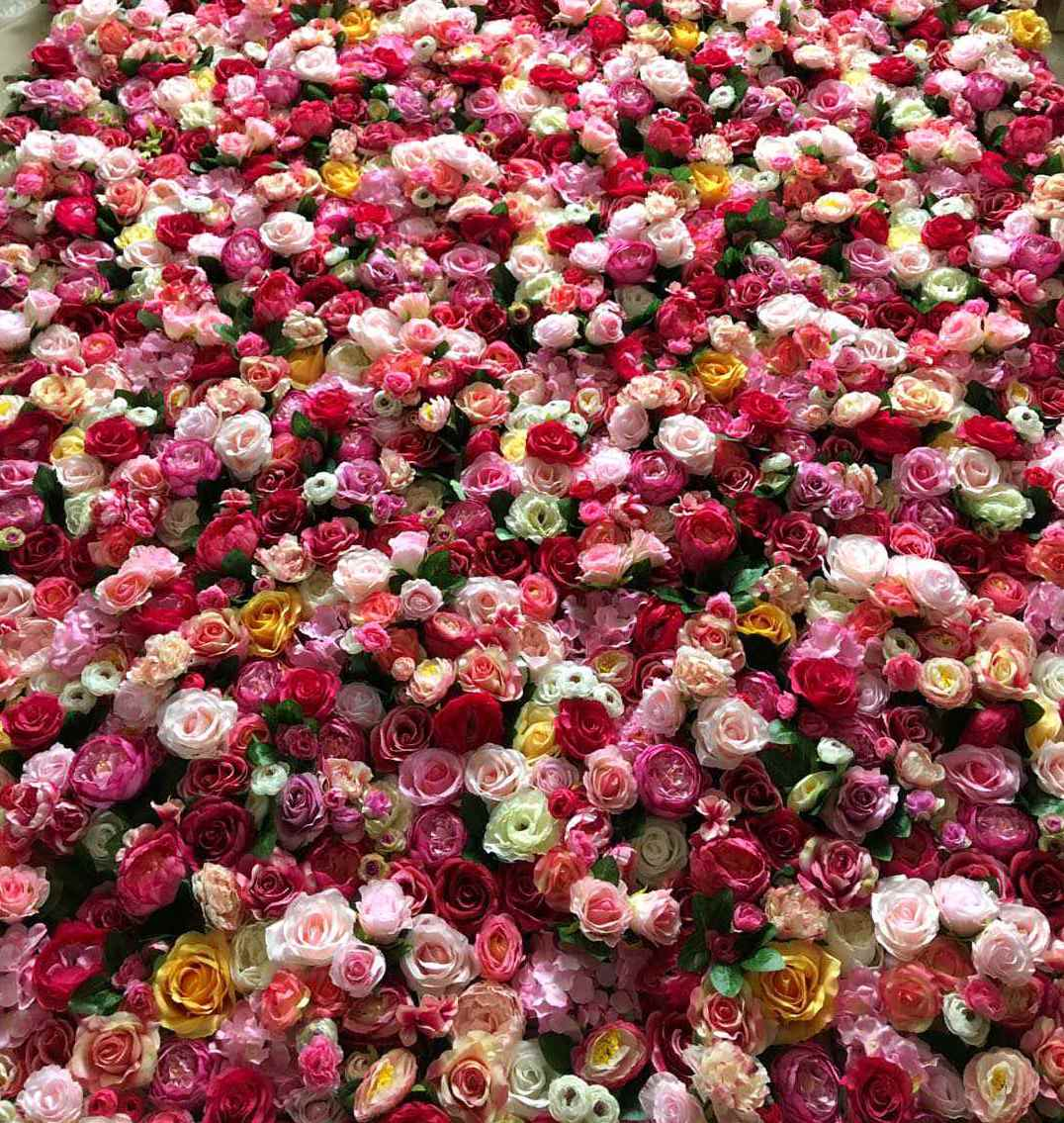 Sweet Romance Flower Wall